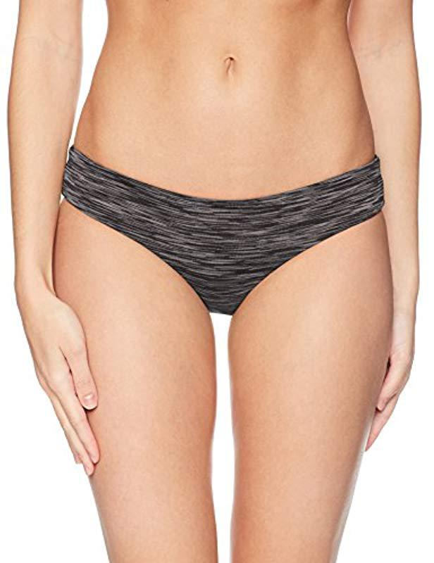 Lyst - Rip Curl Premium Surf Hipster Bikini Bottom in Black eda6fcb48
