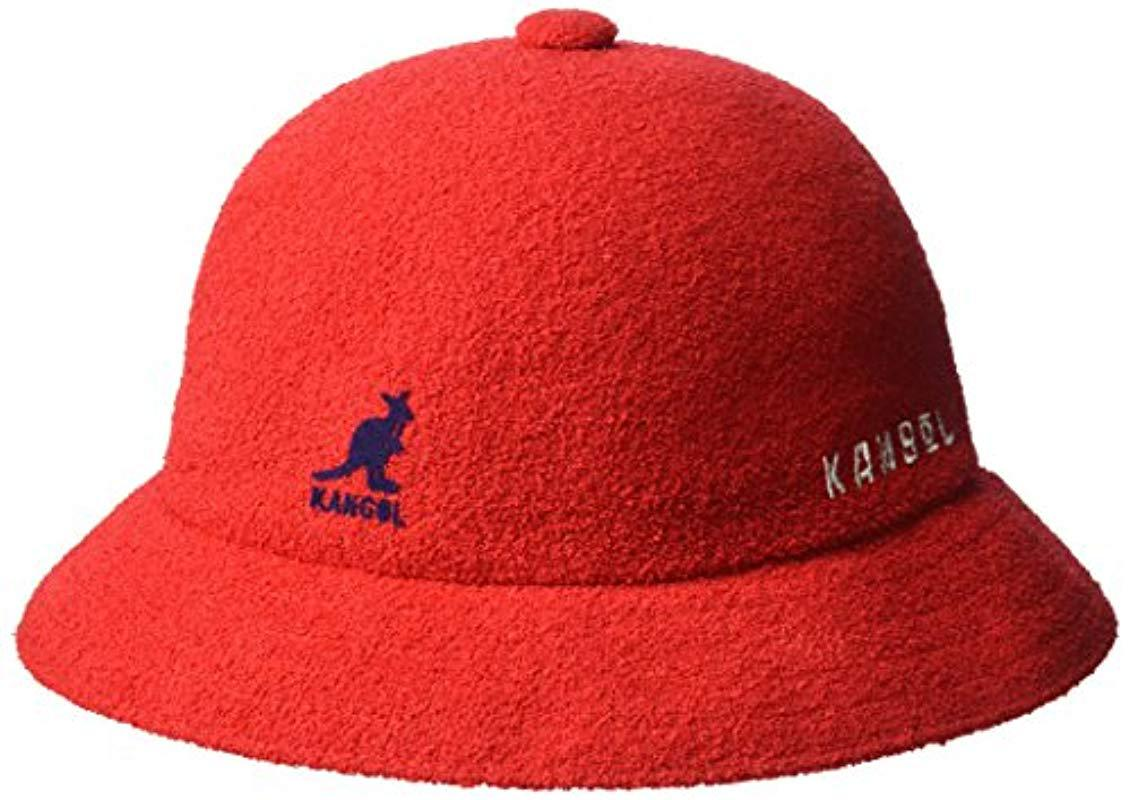 Lyst - Kangol Ufo Casual Bucket Hat in Red for Men - Save 5% 78fe2baa4fd