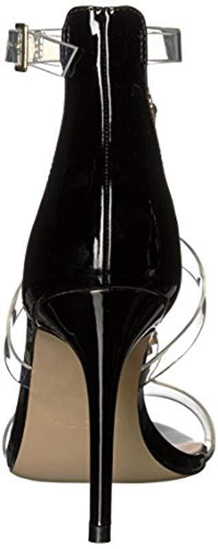 4287fbcbeec Lyst - ALDO Montesegale Heeled Sandal in Black