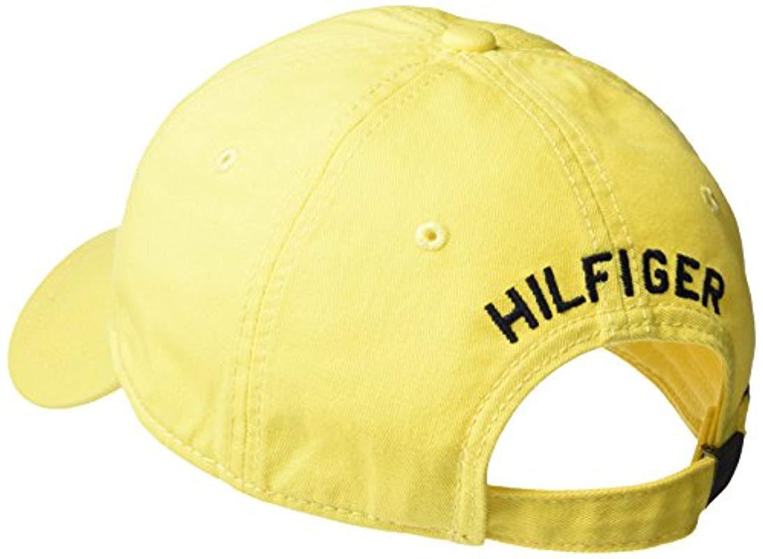bd20ecd3 Tommy Hilfiger - Yellow Ardin Dad Hat for Men - Lyst. View fullscreen