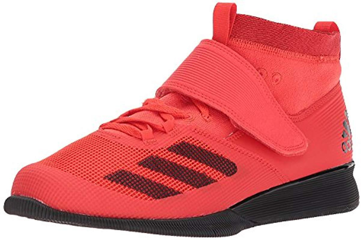 new arrival abb4b 113e4 adidas. Mens Red Crazy Power Rk Cross Trainer