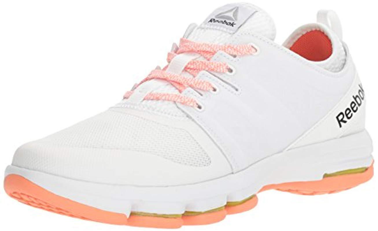 Lyst - Reebok Cloudride Dmx Walking Shoe in White - Save ... 1dbda50b4
