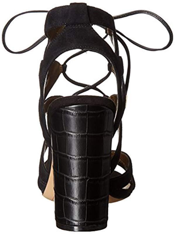 8f30934efc96 Sam Edelman - Black Yardley Dress Sandal - Lyst. View fullscreen