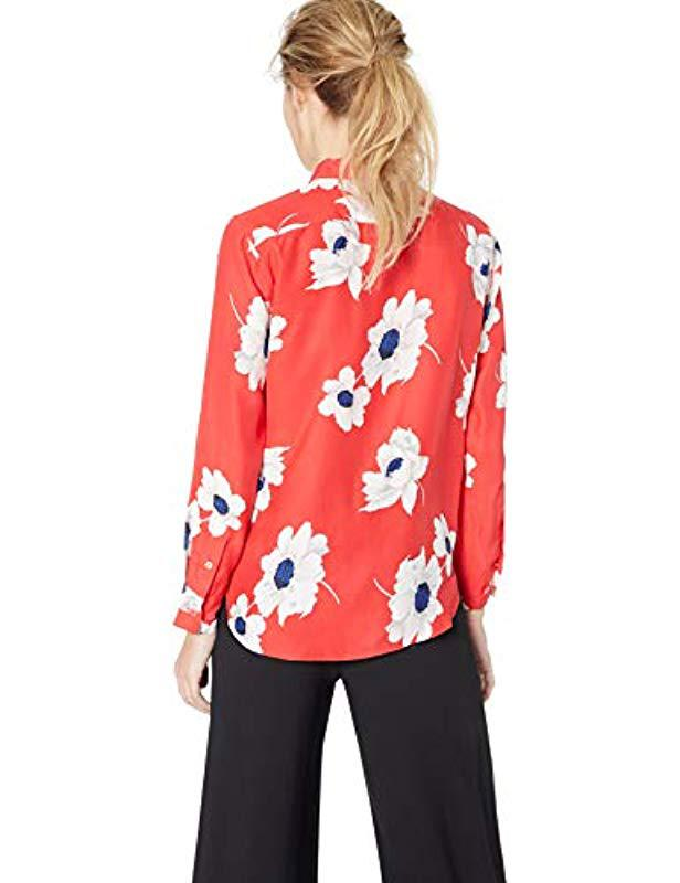 db3e8ee302dbdb Equipment - Multicolor Antiquity Floral Printed Leema Blouse - Lyst. View  fullscreen