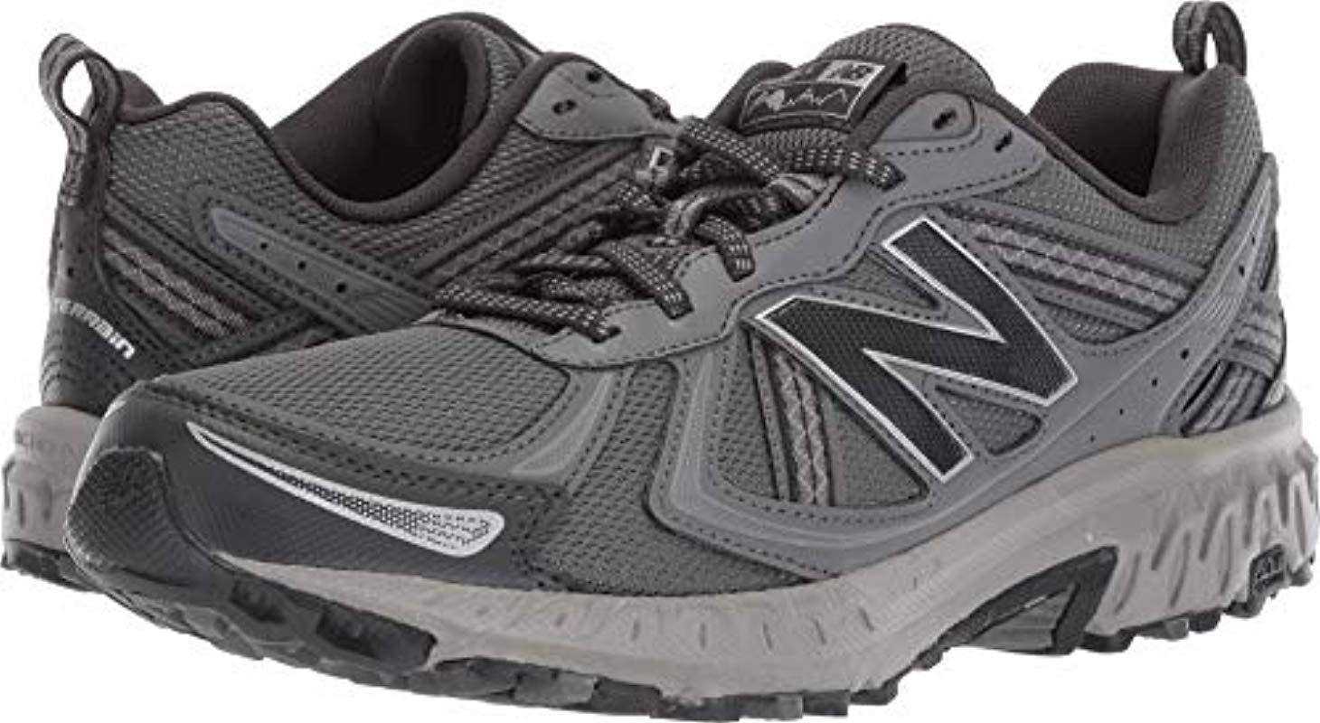 Lyst - New Balance 410v5 Cushioning Trail Running Shoe in Gray for Men d40960f9c5