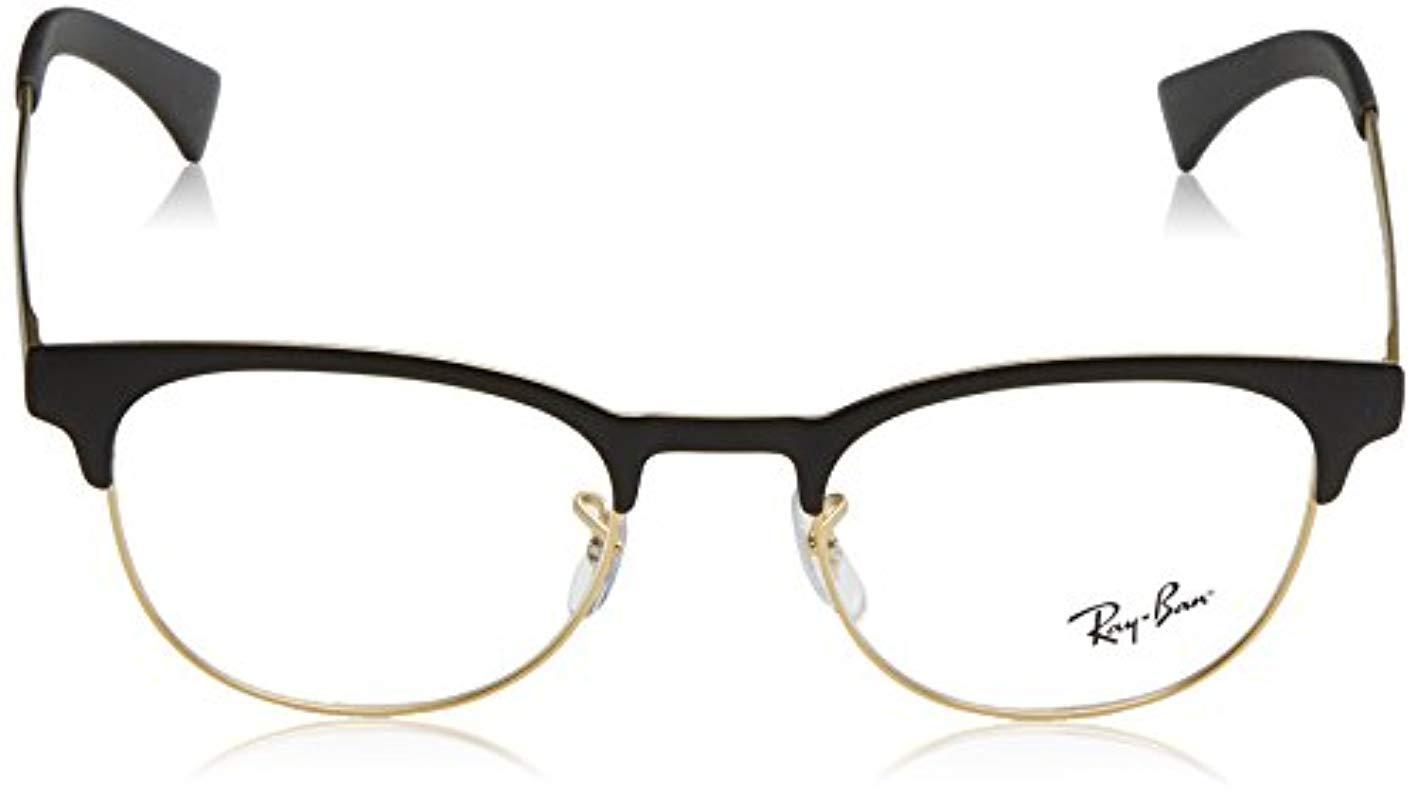 1a4acd560f38 Ray-Ban - Black Rx6317 Eyeglasses for Men - Lyst. View fullscreen