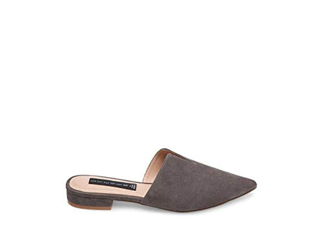 9d4a31a3606 Lyst - Steve Madden Lauryn Grey Suede Casual 6 Us in Gray