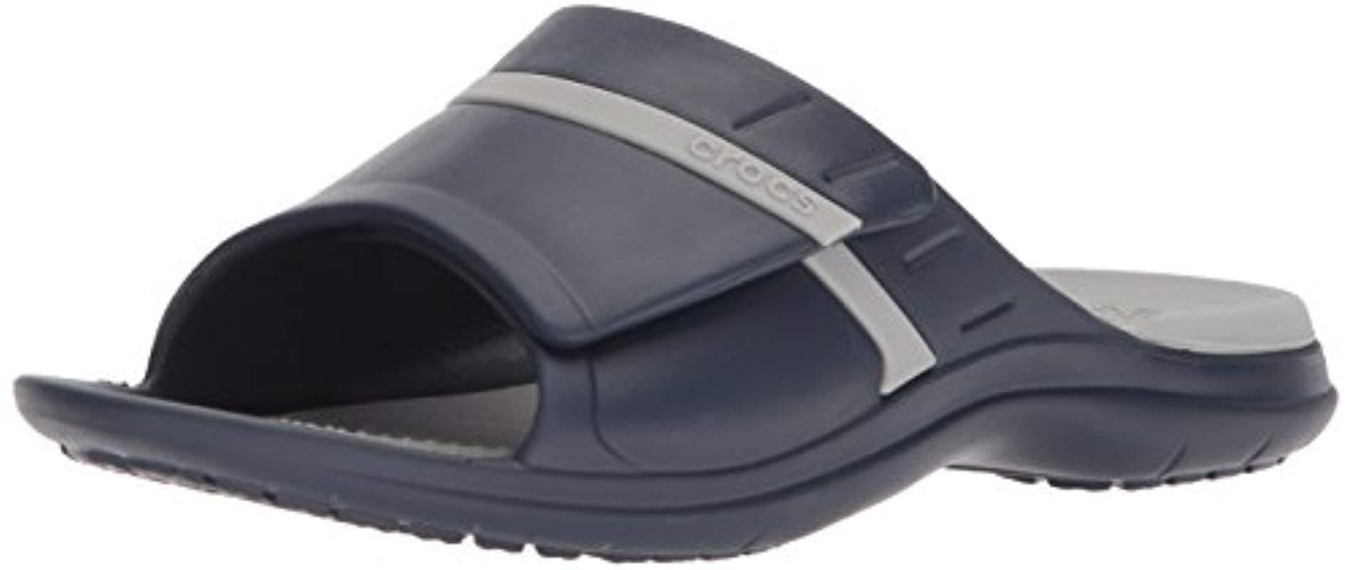 b6a0024b95d4 Lyst - Crocs™ Unisex Modi Sport Slide Sandals in Gray