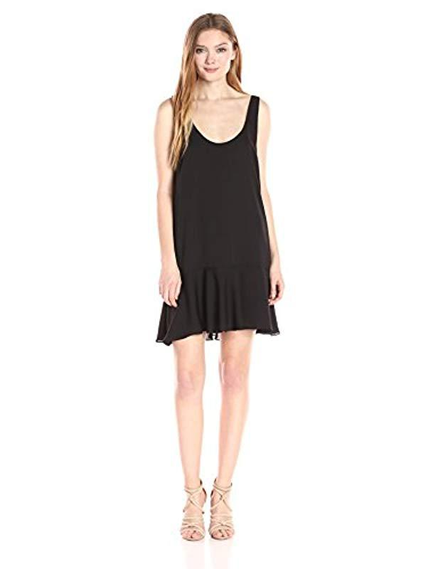 99f5e5a75cc Lyst - Amanda Uprichard Soren Dress in Black
