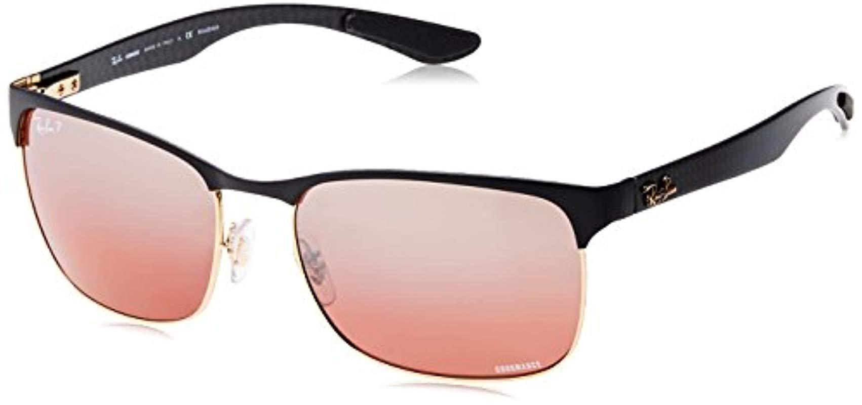 7292c2aeec74b Lyst - Ray-Ban Rb8319ch 60 Sunglasses 60mm for Men - Save 17%