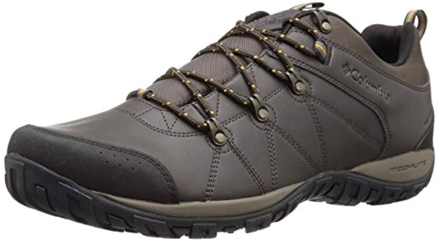 3321eb2f3bc55 Lyst - Columbia Peakfreak Venture Waterproof Wide Hiking Shoe ...