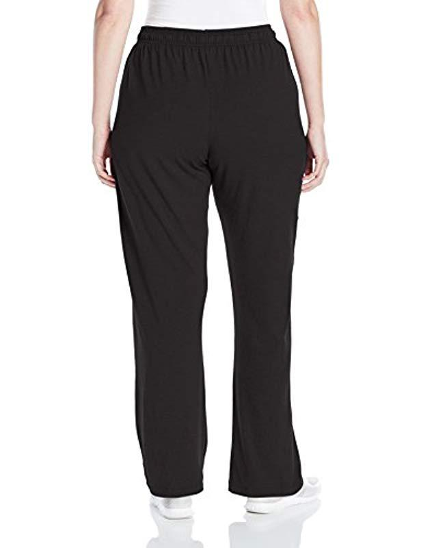 a9ba06e8ee80f Lyst - Champion Plus-size Jersey Pant in Black