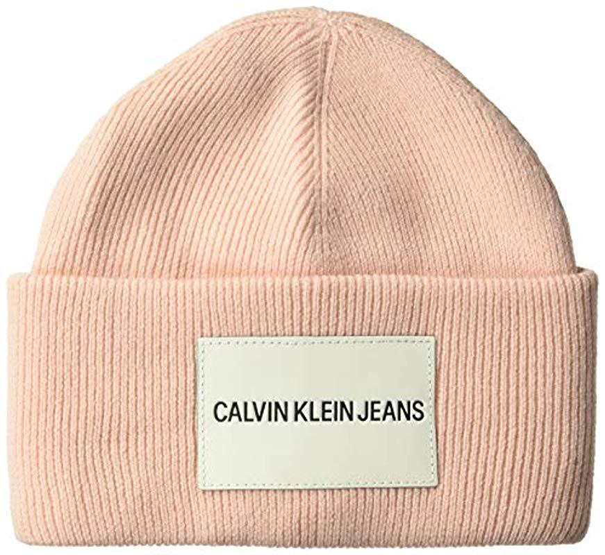 df52423c Lyst - Calvin Klein Jeans Beanie for Men
