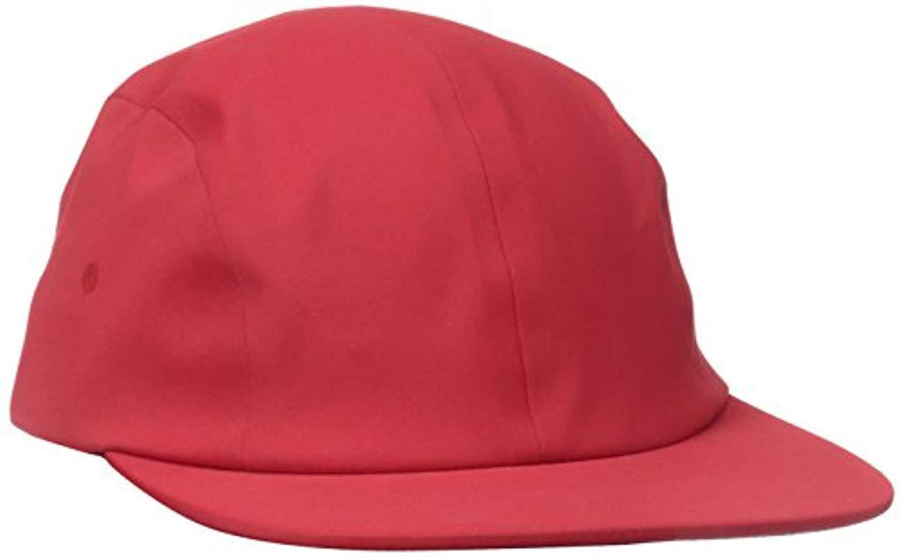 Lyst - Herschel Supply Co. Owen Seamless Hat in Red for Men af0ff309cb59