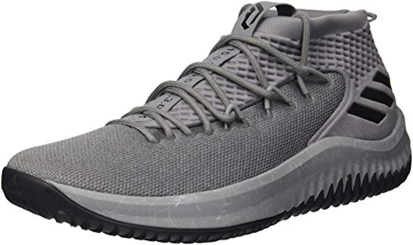 7f497b14886c Lyst - adidas Crazy Time Ii Football Shoe in Gray for Men