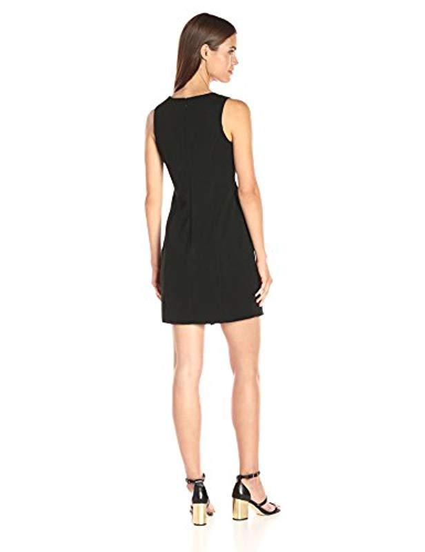 Lyst - Jessica Simpson Solid Ottoman Knit Dress in Black 55455e360