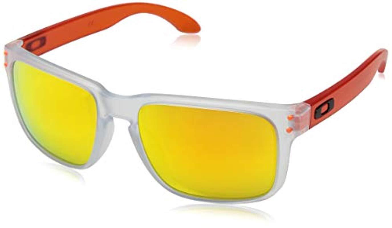 52a1e09147 Lyst - Oakley Holbrook Crystal Pop Sunglasses