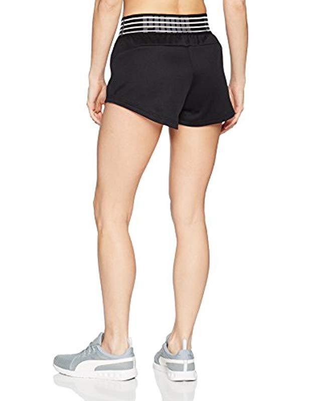 4fc9ebdefa48 Lyst - PUMA Fusion Shorts in Black