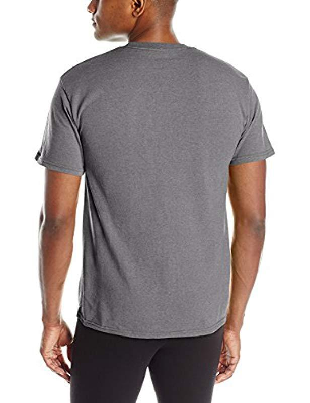 9391811e Lyst - Champion Graphic Jersey T-shirt in Gray for Men