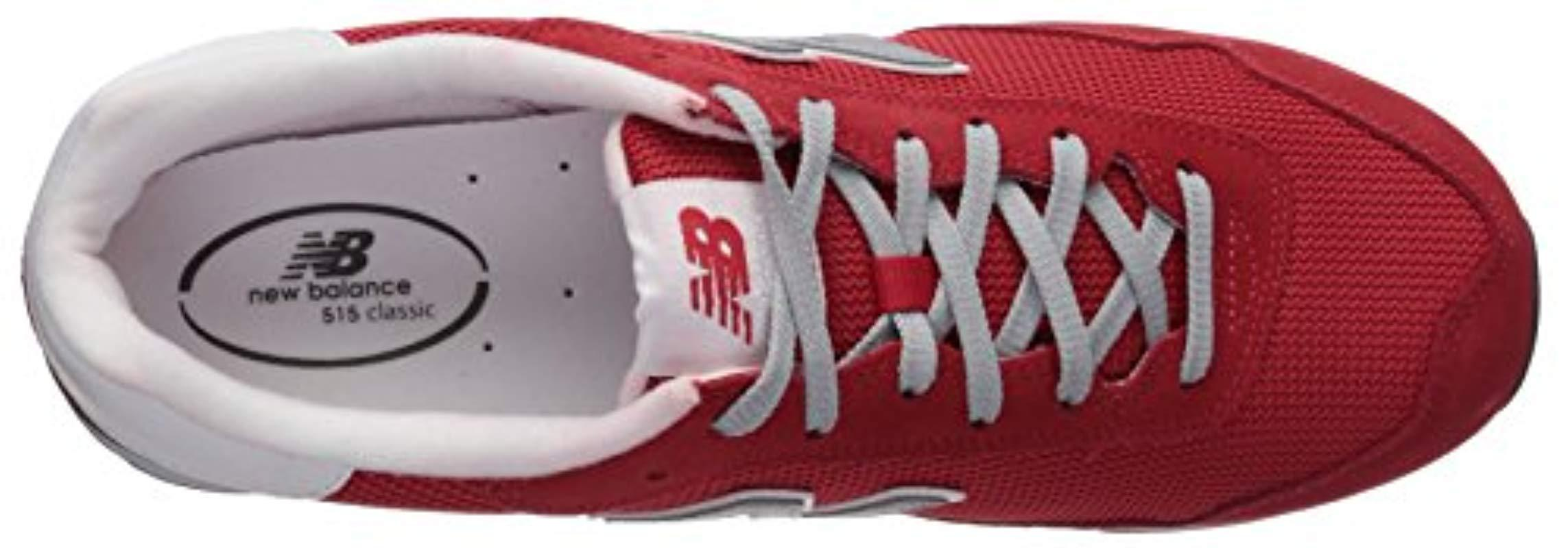 e091b6c9ee6a5 Lyst - New Balance 515v1 Sneaker in Red for Men