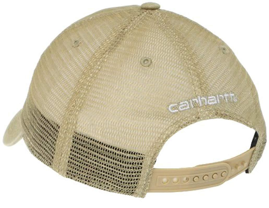 ... 100286  timeless design 11aff 61eb1 Carhartt - Multicolor Buffalo  Sandstone Meshback Cap for Men - Lyst. ... 16192dcdd4a9
