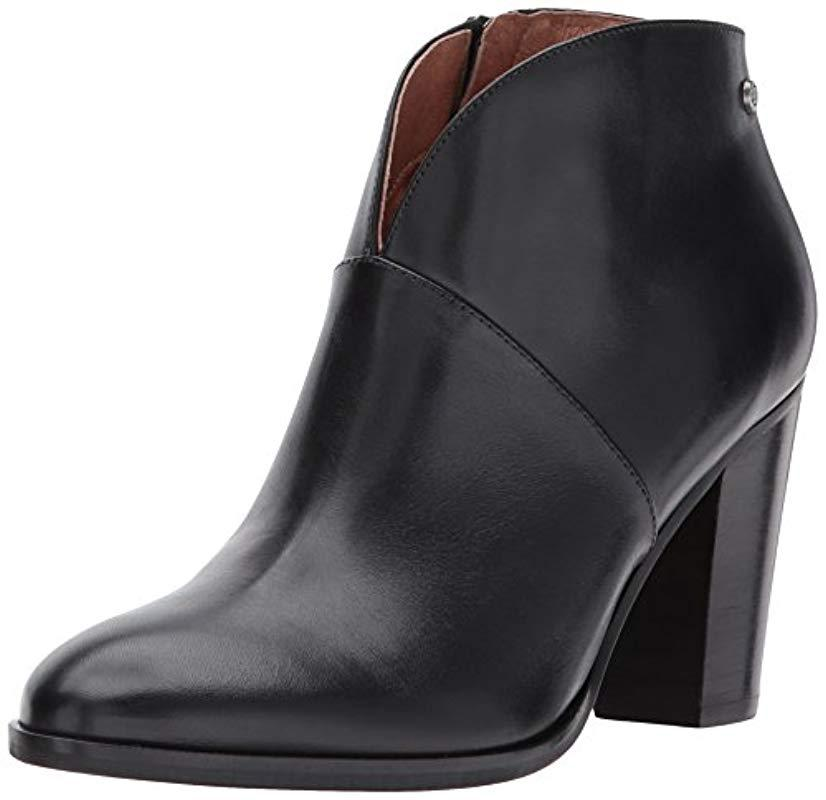 cb3c21dbce6 Lyst - 206 Collective Everett High Heel Ankle Bootie in Black