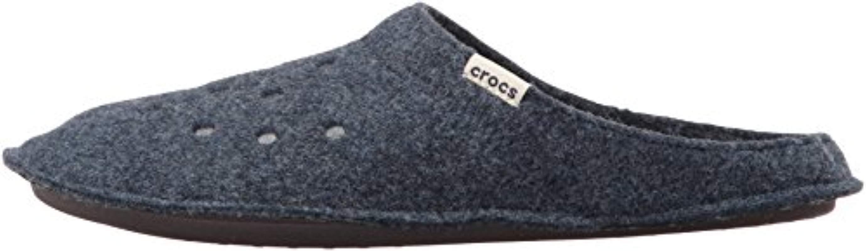 52a30d0776 Lyst - Crocs™ Unisex Adults  Classic Slipper U in Blue for Men - Save 17%