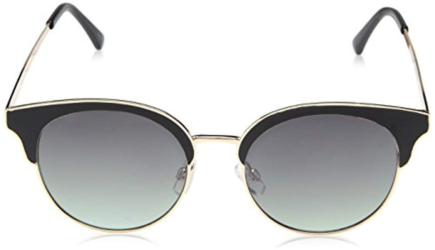 8e0dbe27c2c ... Nanette Lepore Nn217 Oxgld Round Sunglasses Black gold 51. View  fullscreen