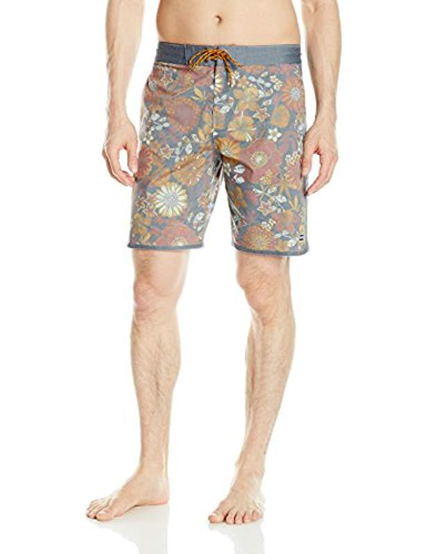 b13012833c Billabong 73 Lo Tides Lineup Boardshort in Red for Men - Save 31% - Lyst