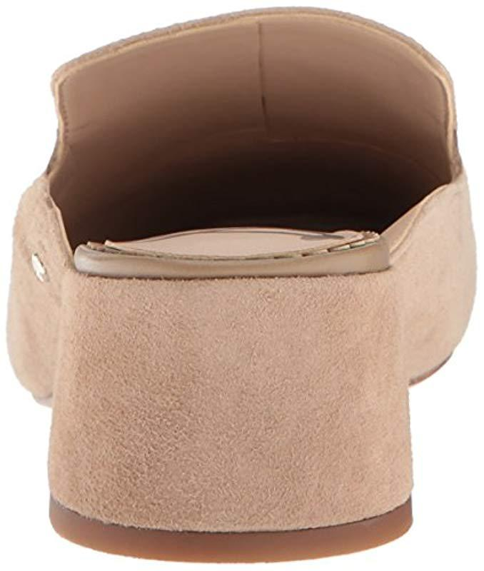 b313bcd1924 Lyst - Sam Edelman Adair Mule in Natural - Save 1%