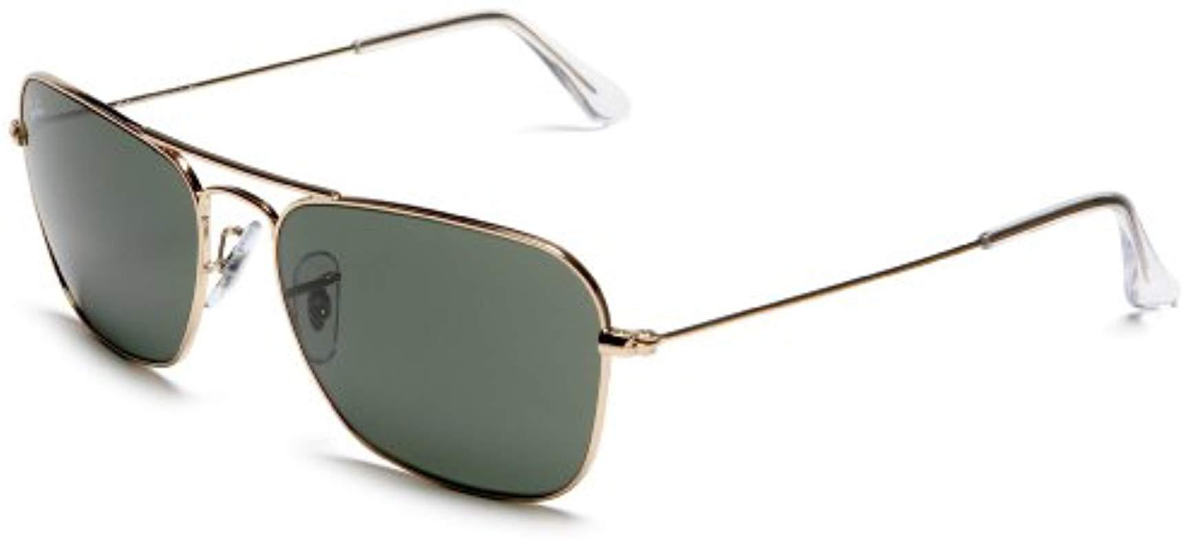 0603fa1712d Lyst - Ray-Ban Rb3136 Caravan Sunglasses - Save 34.640522875817%