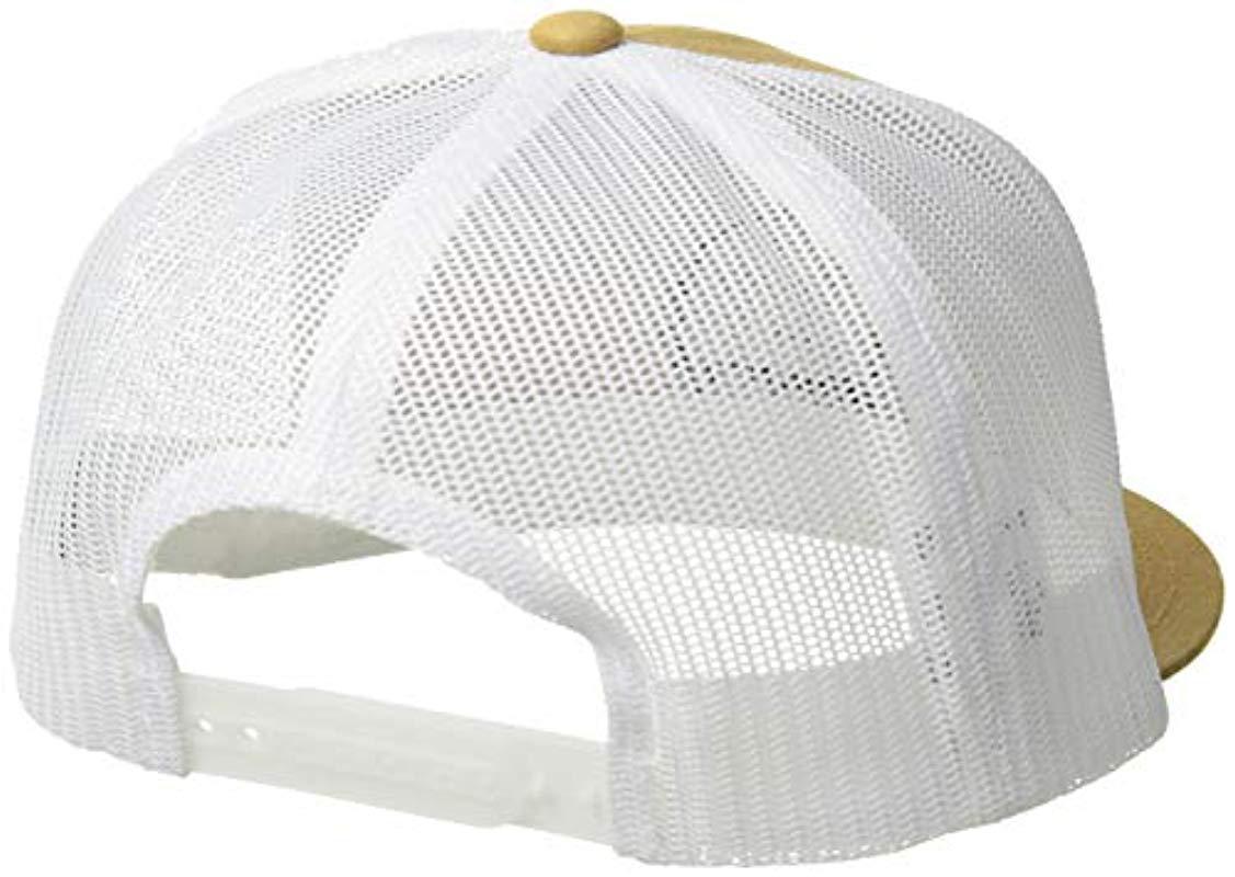 ed1cfd545fd0c6 Lyst - Brixton Wheeler Mesh Cap (copper) Caps for Men - Save 5%