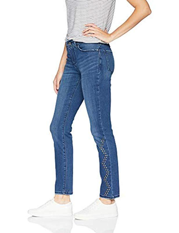 25a3ae2b Lyst - Lee Jeans Dream Soft Slim Fit Skinny Leg Jean in Blue