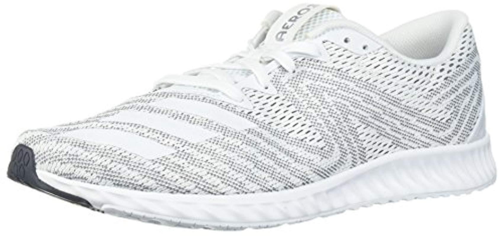 9f18b7d454329 Lyst - adidas Aerobounce Pr W Running Shoe in White - Save 20%