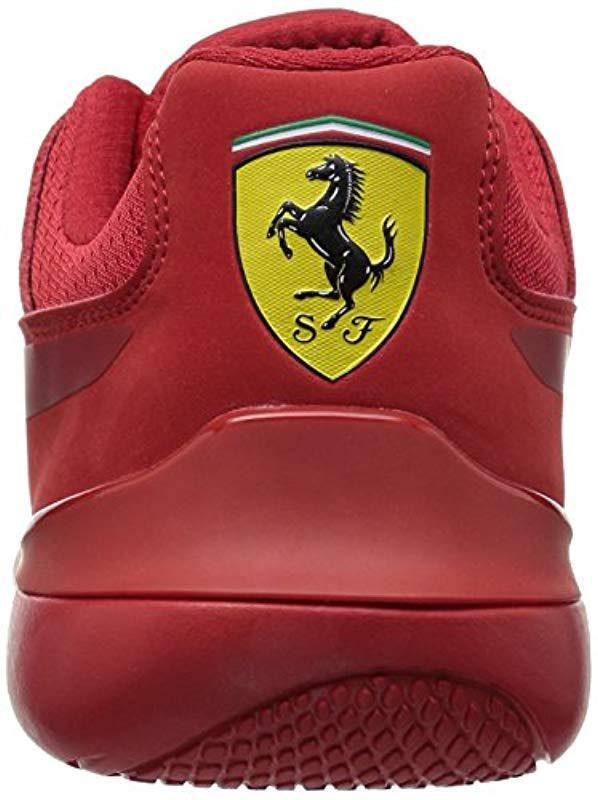 88e393fabf6481 PUMA - Red Ferrari Evo Cat Sneaker for Men - Lyst. View fullscreen