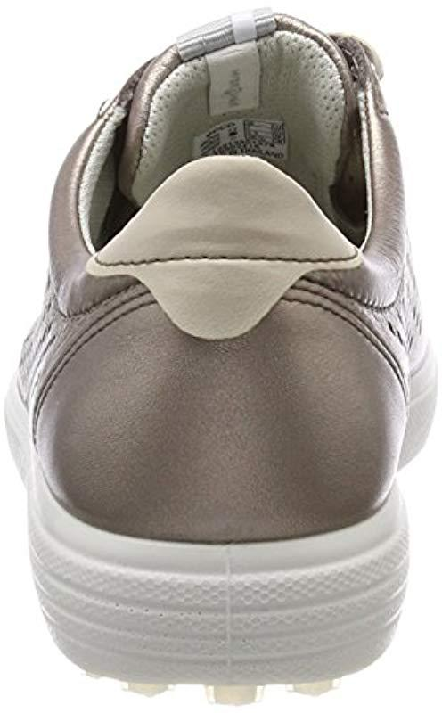 Ecco - Gray Casual Hybrid Perforated Golf-shoe - Lyst. View fullscreen ba1fe95e04131