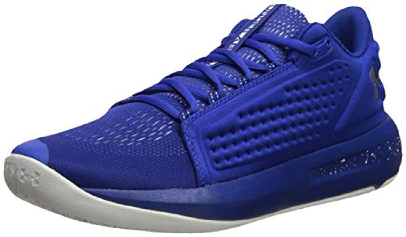 f6da441ab81 Under Armour Torch Low Basketball Shoe in Blue for Men - Lyst