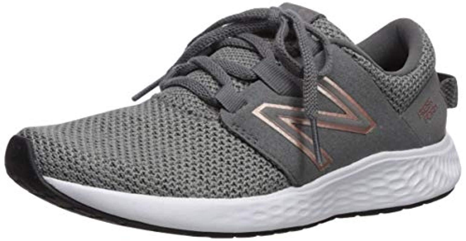 New Balance Multicolor Vero Racer V1 Fresh Foam Sneaker, Castlerockphantom, 7 W Us Lyst