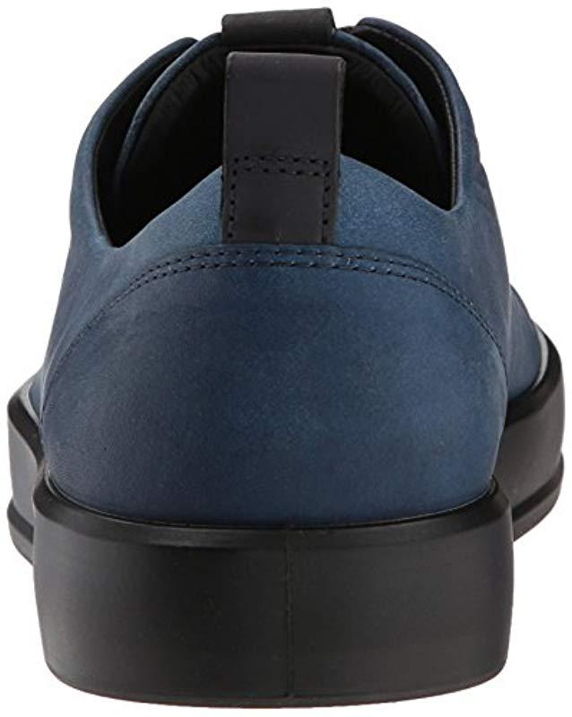 Lyst - Ecco Soft 8 Tie Fashion Sneaker in Blue for Men - Save 53% 8cafd04e3