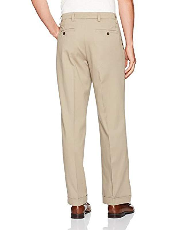 619403ac15 Lyst - Dockers Easy Khaki Relaxed Fit Pants D4-pleated for Men