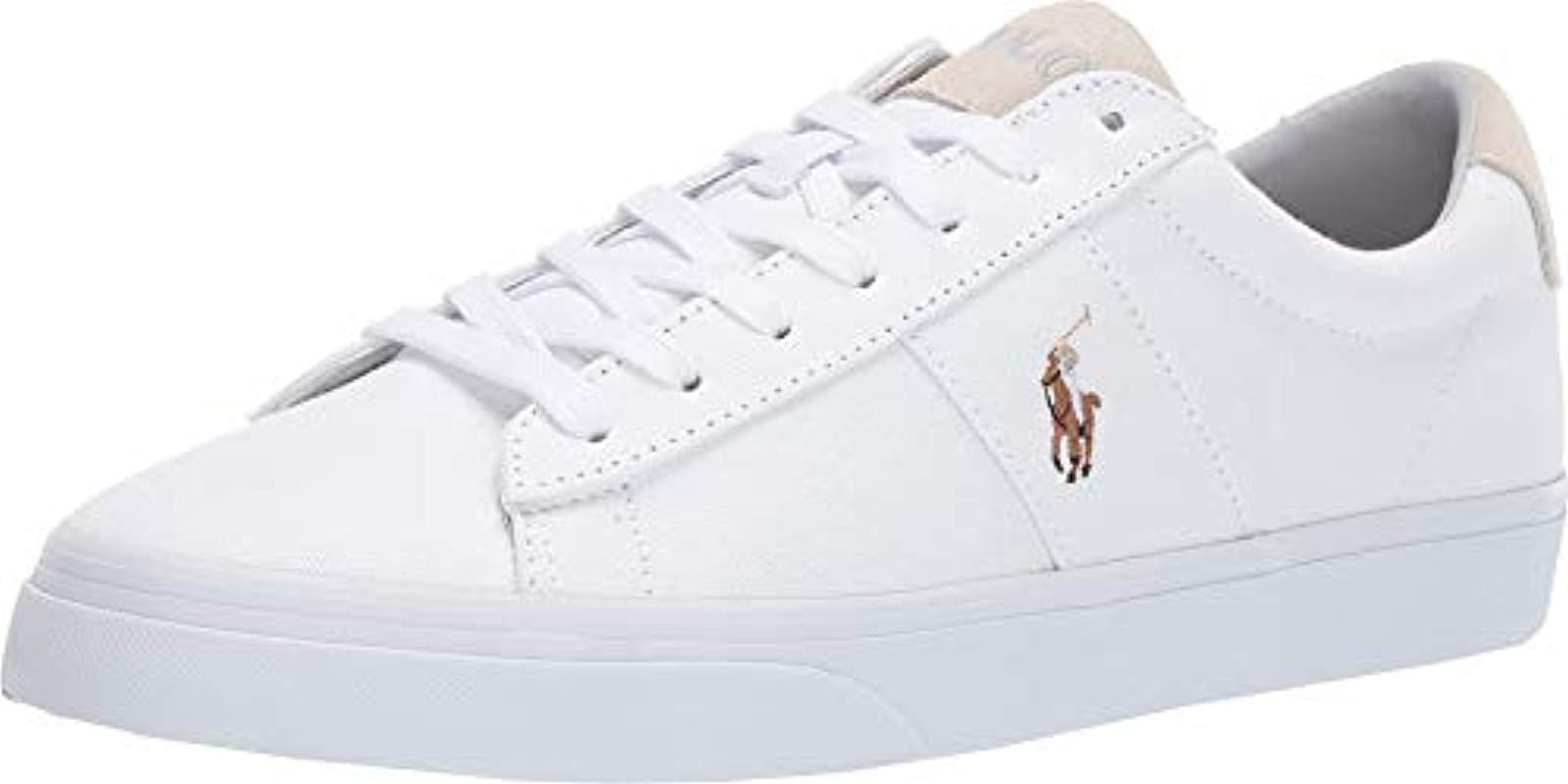 325c815206e Lyst - Polo Ralph Lauren Sayer Sneaker White 8.5 D Us in White for Men