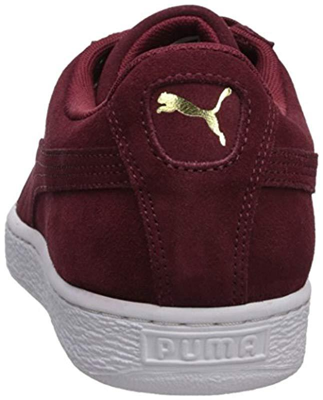 Lyst - PUMA Adult Suede Classic Shoe for Men - Save 31% f63415d75