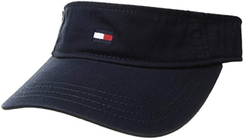 ed48979c63c Lyst - Tommy Hilfiger Dad Hat Flag Solid Cotton Visor in Blue for Men