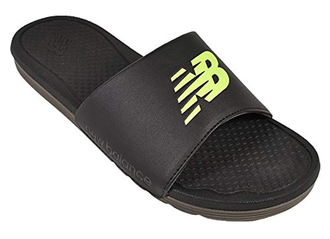 12d4d8aa21e7 Lyst - New Balance Nb Pro Slide Sandal in Black for Men