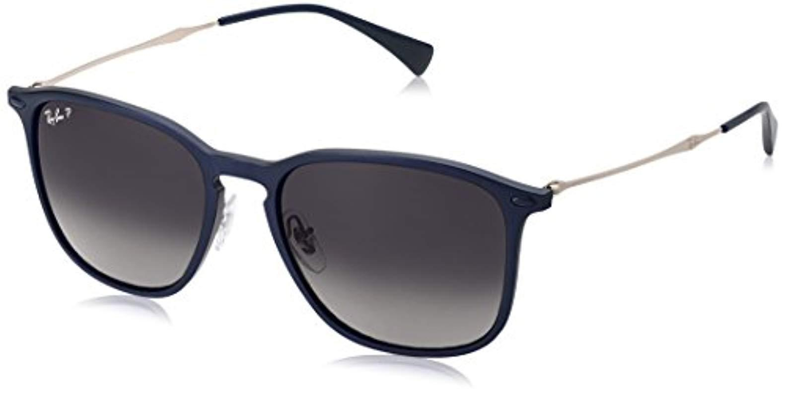 dd665127ca Lyst - Ray-Ban Rb8353 Sunglasses in Blue - Save 20%