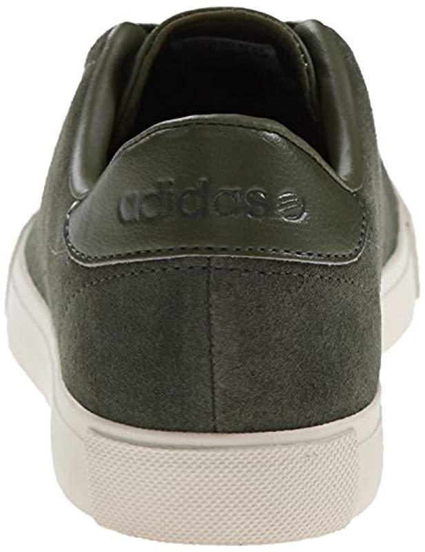best sneakers df85e 0a72d Lyst - adidas Neo Daily Line Lifestyle Skateboarding Shoe in Green for Men  - Save 43%