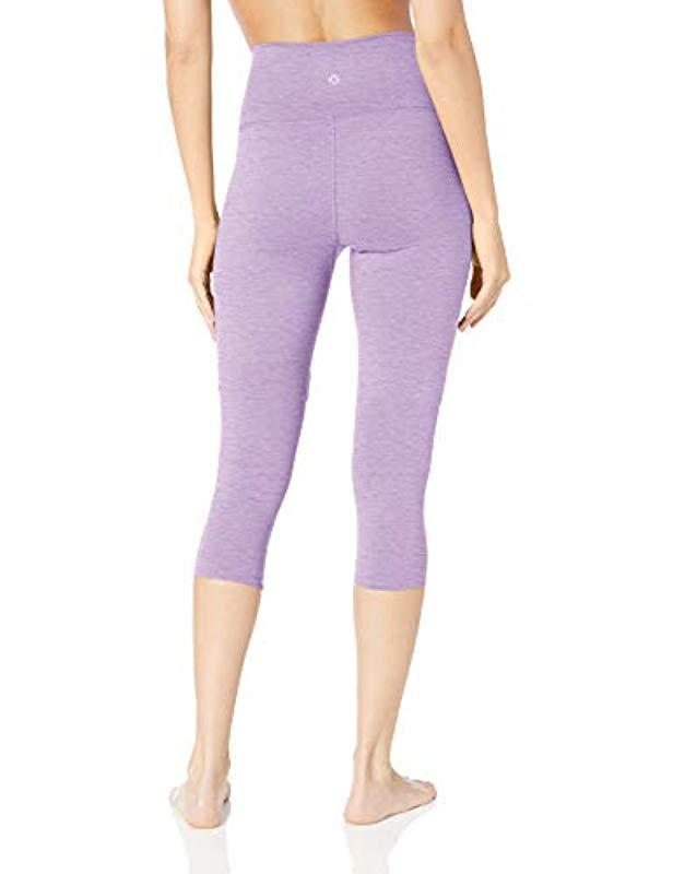 d67de38131582f Lyst - Core 10 Amazon Brand - (xs-3x) Corecomfort High Waist Yoga Capri  Legging - 22