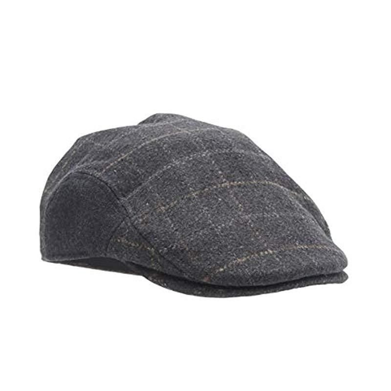 b1caf736d28 Lyst Dockers Ivy Newsboy Hat With Earflaps In Gray For Men