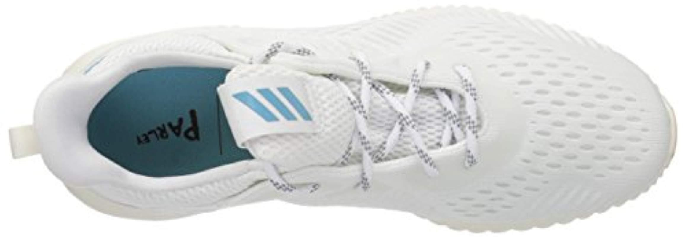 631aa2f4ef7ba Adidas - White Alphabounce 1 Parley W Running Shoe - Lyst. View fullscreen