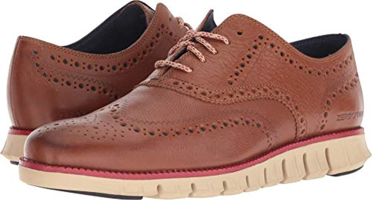 d0e2f0a87 Lyst - Cole Haan Zerogrand Wing Ox Oxford for Men